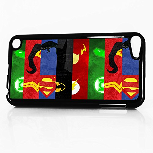 ( For iTouch 5 iPod Touch 5 ) Phone Case Back Cover - HOT5383 Super Hero Superman Wonder Woman Batman 5383
