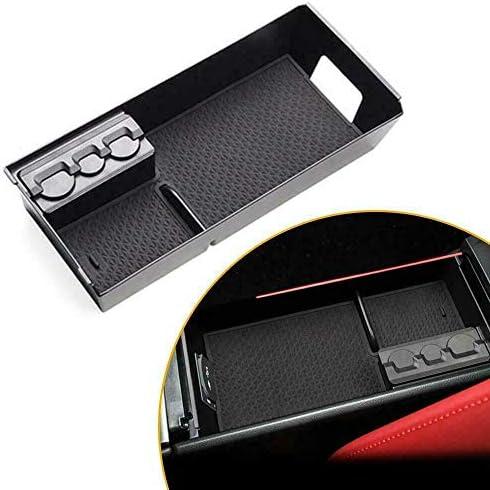 Organizador de reposabrazos Central First2savv Caja de Almacenamiento para Consola Central Lexus UX UX200 UX250h 2019 Caja de Almacenamiento Interior