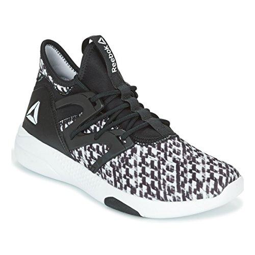 000 Reebok White Mujer EU Sneakers Negro Danza Wht de 40 Hayasu para Black Ltd rzq6APr