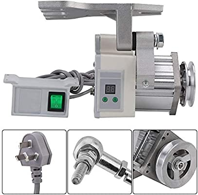 Motor de máquina de coser, 1 unidad 220V 400W Motor ajustable 4500 ...