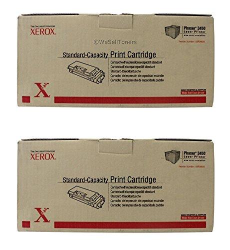 (Xerox 106R00687, 106R00688 Print Cartridge CART,STD, PHSR 3450,5K YD (Pack of)