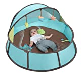 Baby : Babymoov Babyni - 3-in-1 Playpen, Activity Gym & Napper with Pop-Up System, 6 Toys and UPF 50+ Protection for Outdoor & Indoor Use