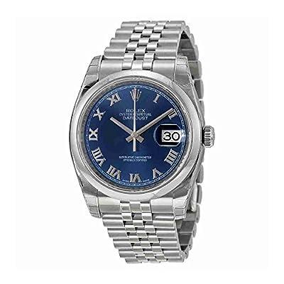 Rolex Datejust Blue Dial Stainless Steel Jubilee Bracelet Mens Watch 116200BLRJ from Rolex