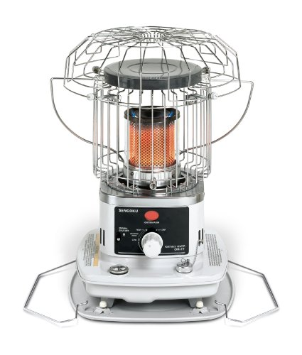 Sengoku HeatMate 10,000-BTU Portable Indoor/Outdoor Omni-Radiant Kerosene Heater, OR-77