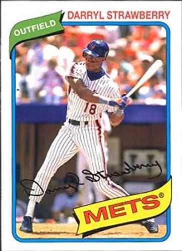 2012 Topps Archives #129 Darryl Strawberry Mets MLB Baseball Card NM-MT