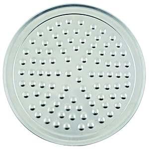 "Winco APZN-8, 8""Dia Aluminum Wide Rim Pizza Tray with Nibs, Round Pizza Pan, Pizza Screen"