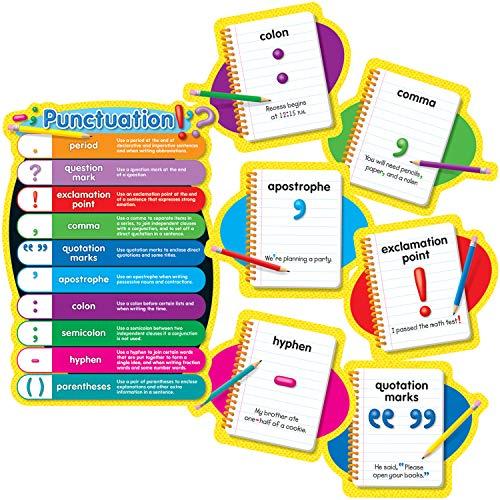 Carson Dellosa Punctuation Bulletin Board Set (110121) ()