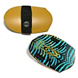 Sole Bodysurfing Handplane, Pocket Rocket, Yellow, with Wrist Tether