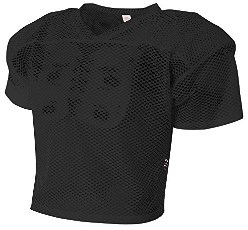 (A4 All Porthole Practice Jersey, Black, Large/X-Large)