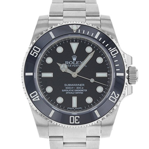Rolex Submariner Black Dial Stainless Steel Automatic Mens