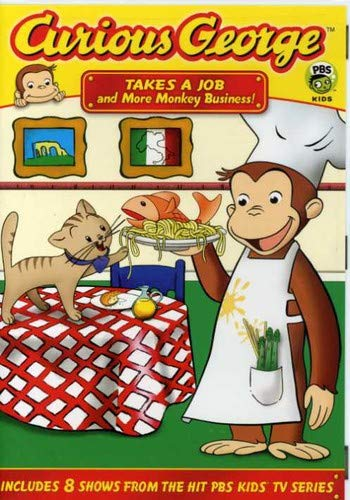 Curious George: Takes a Job and More Monkey Business! -