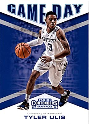 2016-17 Panini Contenders Draft Picks Basketball Game Day #13 Tyler Ulis Kentucky