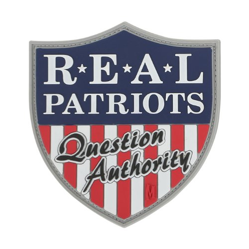 Maxpedition Real Patriots Patch, Full Color