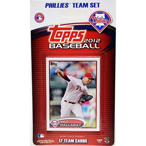 Topps Traded Factory (2012 Topps Philadelphia Phillies Factory Sealed Special Edition 17 Card Team Set)