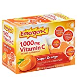 Emergen-C Vitamin C Flavored Fizzy Drink Mix Packets, Super Orange 30 ea ( Pack of 4) Review