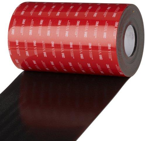 3M VHB Tape 5952, 6 in width x 5 yd length, 1 roll