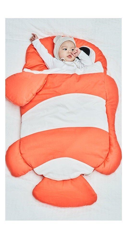 Baby Sleeping Bag Newborn Swaddling Blanket Baby Care Mat Stroller Liner 100% Cotton