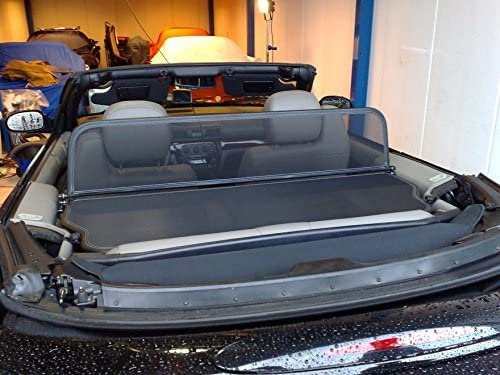Aperta Wind Deflector Compatible with Chrysler Sebring,Stratus Black Tailor Made Windblocker Draft-Stop Windstopper Chrysler Convertible