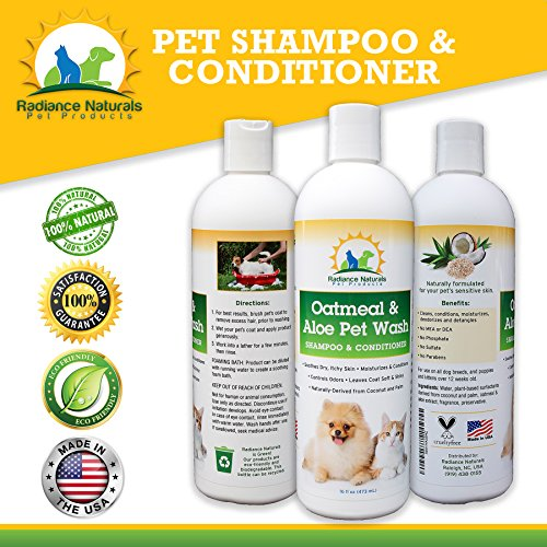All-Natural-Pet-Oatmeal-Aloe-Shampoo-Plus-Conditioner-For-Dogs-Cats-Puppies-Best-Formula-for-Dry-Itchy-Skin-Allergies-Hypoallergenic-Anti-Itch-Treatment-Moisturizes-Deodorizes16-oz