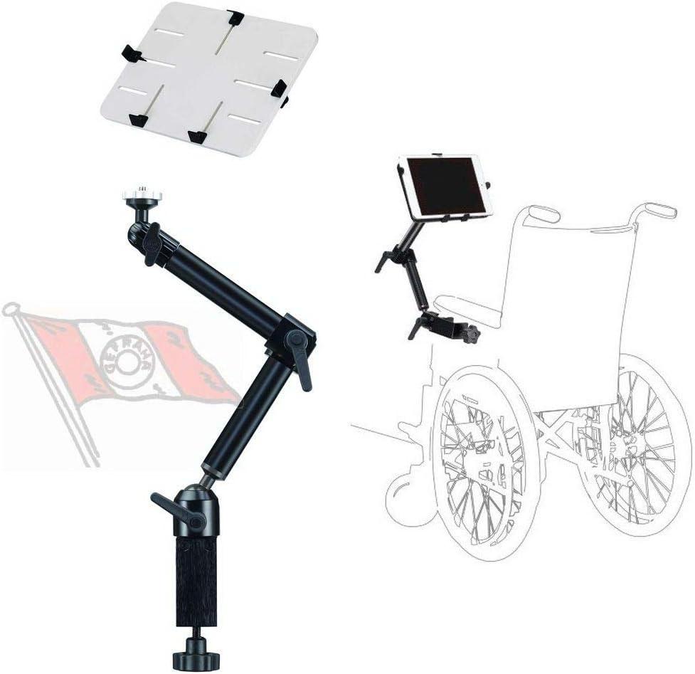 Onyx SL-WPL - Soporte de Aluminio para Tablet, iPad, Lector, cámara Kindle, 10-16 Pulgadas, para Mesa, Cama, Silla de Ruedas, Oficina, Escuela