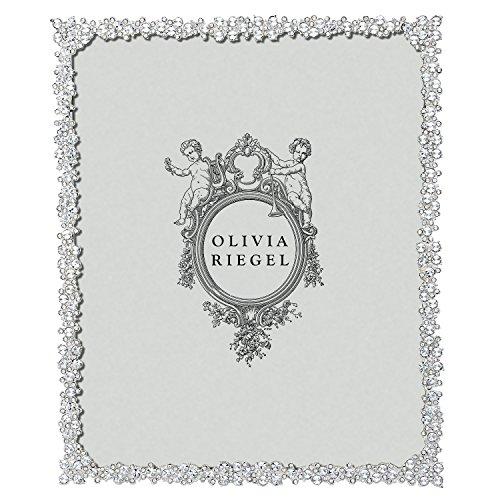 Finish Frame Baby Pewter (PRINCESS Austrian Crystal 8x10 frame by Olivia Riegel - 8x10)