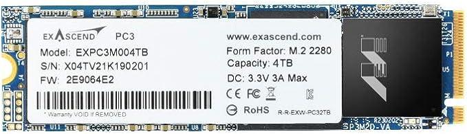 4tb Nvme Ssd Gen3 X4 Pcie M 2 2280 3d Nand Tlc Slc Computer Zubehör