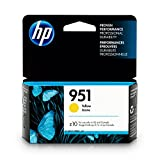 HP 951 Yellow Original Ink Cartridge For HP Officejet Pro 251dw, 276dw, 8100, 8600, 8610, 8615, 8620, 8625, 8630