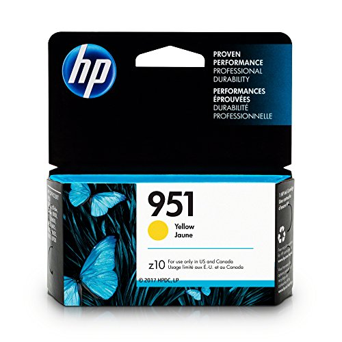 HP Cartridge Yellow CN052AN Officejet product image