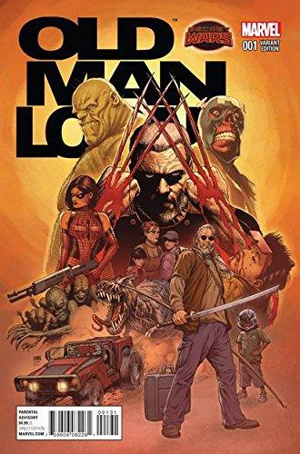 Secret Wars Old Man Logan #1 1/25 Variant Cover by McNiven (City Of Logan)