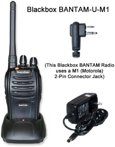 BlackBox Bantam Portable 2-Way Radio VHF or UHF Models