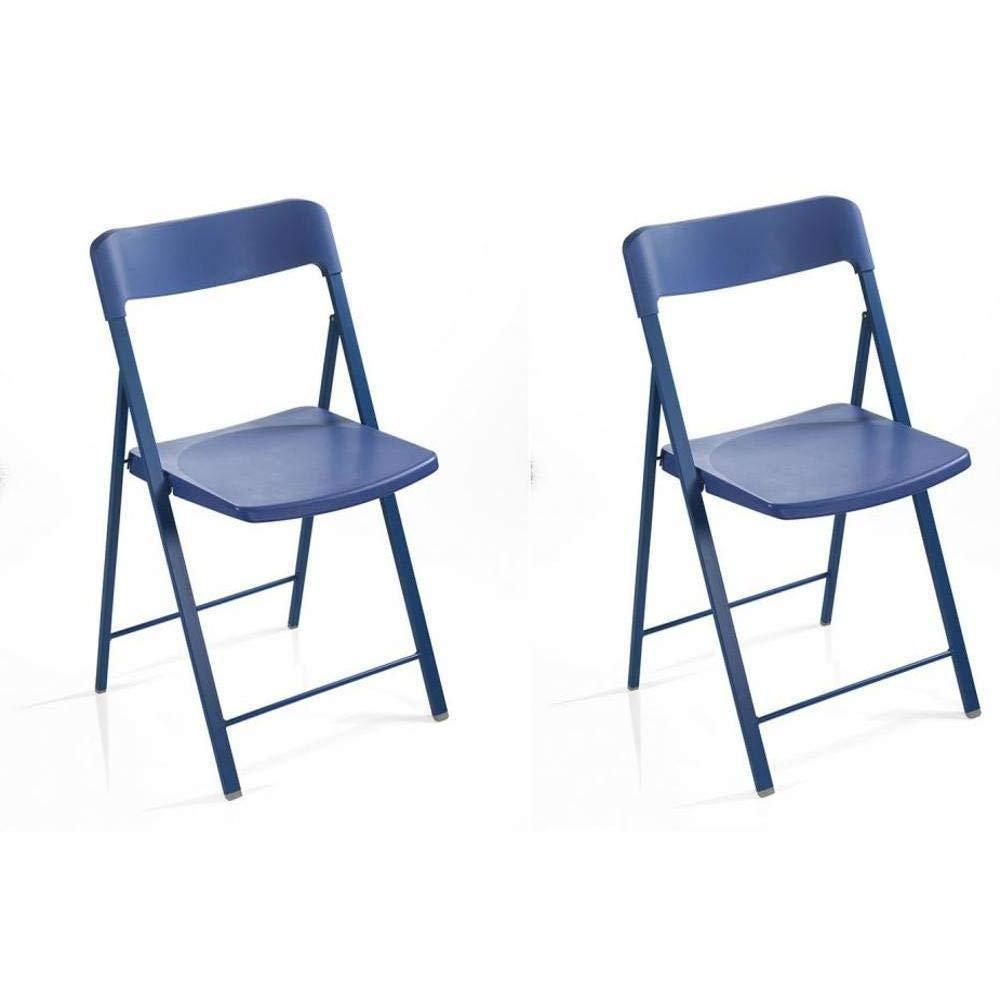 PEZZANI Set 2 sedie Pieghevoli kully Cancelleria e ...