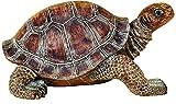 """Elaan31 22441 Turtle Garden Statue 15"""" Patio Lawn Yard Indoor Outdoor Decorations"""