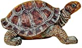 Elaan31 22441 Turtle Garden Statue 15'' Patio Lawn Yard Indoor Outdoor Decorations