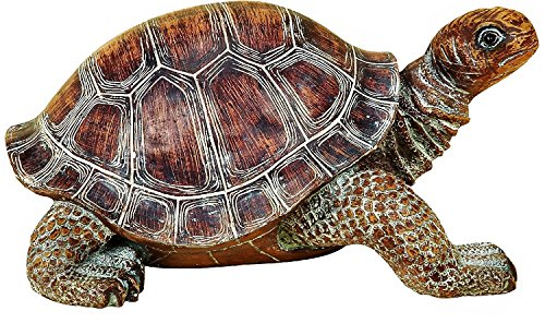 Elaan31 22441 Turtle Garden Statue 15″ Patio Lawn Yard Indoor Outdoor Decorations
