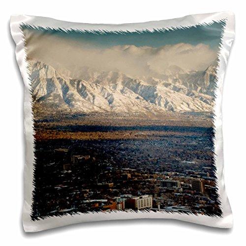 3Drose Wasatch Mountains  Salt Lake City  Utah  Usa Us45 Hga0339 Howie Garber Pillow Case  16 By 16   Pc 147247 1