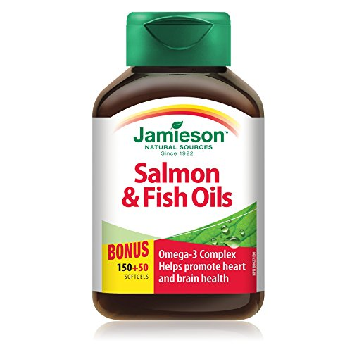 Jamieson Salmon & Fish Oils Omega-3