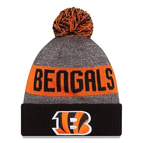 Amazon.com   Cincinnati Bengals Fan Hat Knit Beanie Jersey ... a3f0d3fb7aa