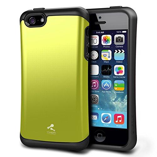 Thor verus coque de protection rigide type bumper pour apple iPhone 5 vert