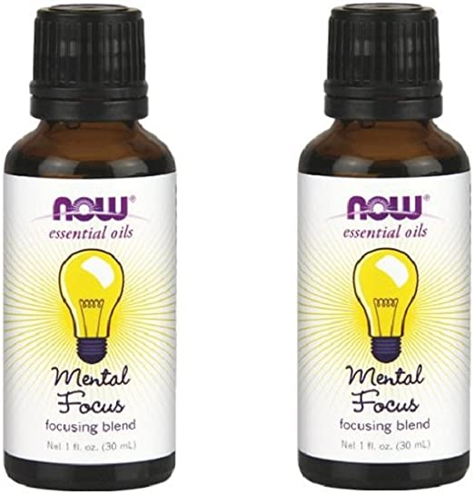 Now Essential Oils Mental Focus Blend - Pack of 2 by Now Oils: Amazon.es: Belleza