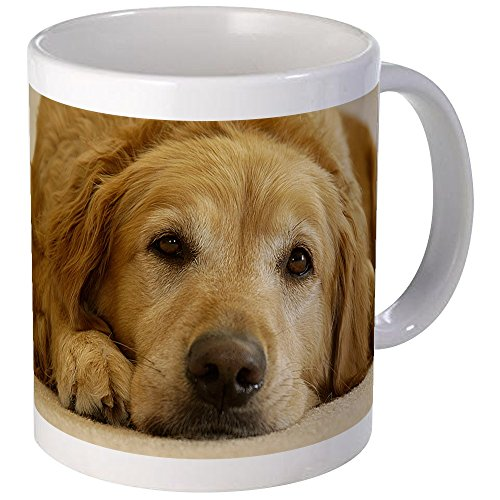 CafePress Golden Retriever Morning Coffee
