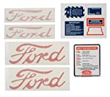 TISCO - FORD TRACTORS NAA DECAL SET. PART NO D-NAA 5354