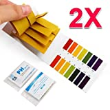 Yaheetech PH 1-14 Test Indicator Strips Test Paper for Saliva/Urine/Water/Soil