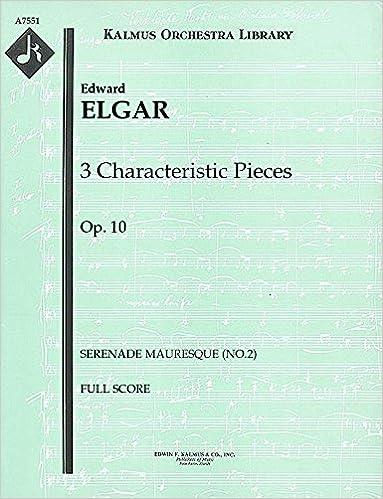 3 Characteristic Pieces, Op.10 (Serenade mauresque (No.2)):
