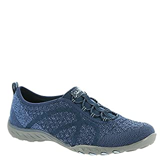 Skechers Active Breathe Easy-Fortuneknit Women's Slip On 6 C/D US Navy (B07111RRLX) | Amazon price tracker / tracking, Amazon price history charts, Amazon price watches, Amazon price drop alerts