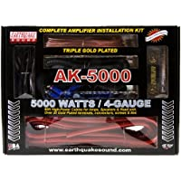 Earthquake Sound AK-5000 Complete Amplifier Installation Kit