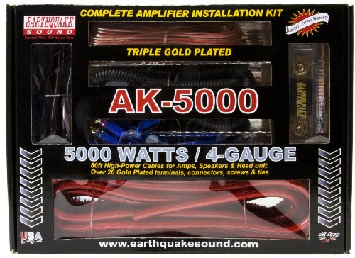Earthquake Sound AK-5000 Complete Amplifier Installation (Cellular Amplifier Cradle Kit)