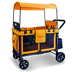Weight capacity: 300 lbs total Rear basket limit: 11 lbs Per set of seat limit (2 seats per set): 66 lbs