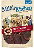 Milo's Kitchen Dog Treats, Beef Jerky, 2.7-Ounce (Pack of 4), My Pet Supplies