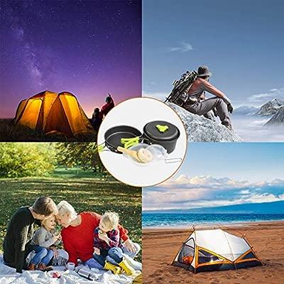 Cozywind Utensilios de Cocina para Camping para 1-2 Personas ...
