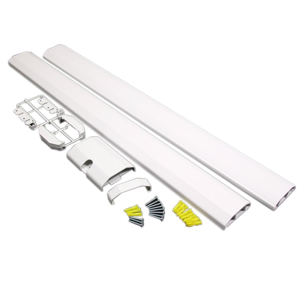 Charming Cablemate Chair Rail Kit Part - 9: Wiremold White CableMate Chair Rail Cord Organizer Kit CMK90: Amazon.co.uk:  Kitchen U0026 Home